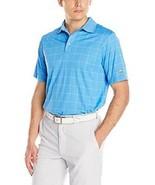 New Jack Nicklaus Mens Golf Performance Escena Plaid Short Sleeve Polo S... - $34.64