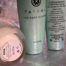 Tatcha Bundle Deep Deep Cleanse Bundle Water Cream 10mL Rice Polish 10g Kit NWOB image 2
