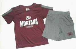 Rivalry Threads Toddler Boys Montana Grizzlies Griz 2pc Short Outfit Siz... - $13.99