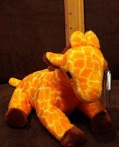 """Retired TY Beanie Baby 1995 Giraffe """"Twigs"""" with error in mint condition  - $9.99"""