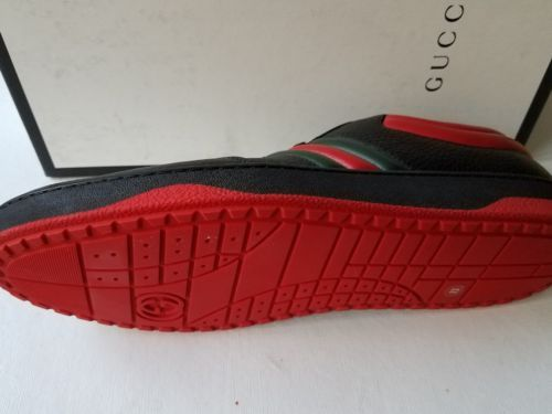 67c9f8d3 NEW Gucci Men's Leather Red/Black/Green Web and 50 similar items