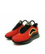 Women's Nike Air Max 720 UNIVERSITY RED BLACK GOLD CU4871-600 Running si... - $54.59