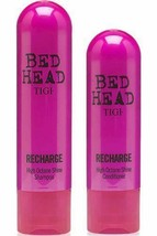 TIGI Bed Head RECHARGE Shampoo (250ml) Conditioner (200ml) DUO