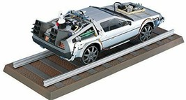 *Aoshima movie Mecha series No.10 Back to the Future DeLorean Part III&R... - $27.87