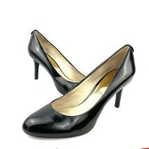 MICHAEL Michael Kors Black Patent Leather Flex Classic Pumps Women Size 9.5 Wide - $19.79