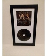 KITTIE: IN THE BLACK - SIGNED CD - IN SPECIAL FRAME - FREE SHIPPING - $92.57
