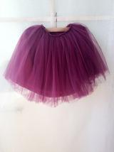PLUM PURPLE flower girl Mini Tutu Skirt Baby Tutu Skirts Many colors NWT image 4
