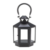 Candle Lanterns Decorative, Rustic Metal Outdoor Lanterns For Candles - $24.99