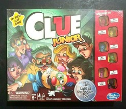 Clue Junior Hasbro Games The Case Of The Broken Toy Ages 5 and Up - $16.82