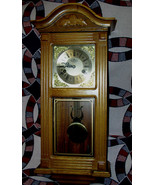 D&A Vintage Pendulum Wall Clock With Key Made In Korea - $164.99