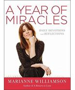 A Year of Miracles: Daily Devotions and Reflections [Hardcover] Williams... - $11.87
