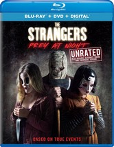 The Strangers: Prey at Night Unrated Blu-ray + DVD + DIGITAL NEW - $13.00