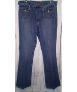 Vigoss Jeans London Blue Size 17/18 Bootcut Light Wash Faded GUC - $9.90