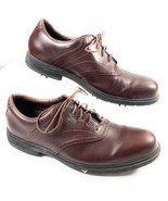 Callaway Golf Men's Shoes CG Sport Oxford Course Club Brown Leather Size... - $24.74
