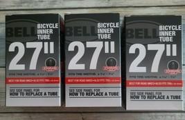"Three (3) Bell 27"" x 1 1/8 - 1 1/4 Standard Valve Bicycle Inner Tubes Fi... - $29.70"