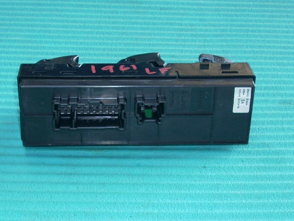 2014 NISSAN ALTIMA DOOR ELECTRICAL SWITCH LEFT SIDE 254013TA5A