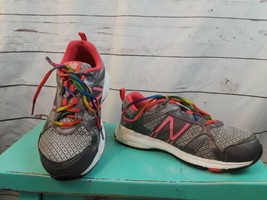 Women's New Balance 695 Size 6.5 Athletic Cross Trainers Rainbow Laces F... - $18.49