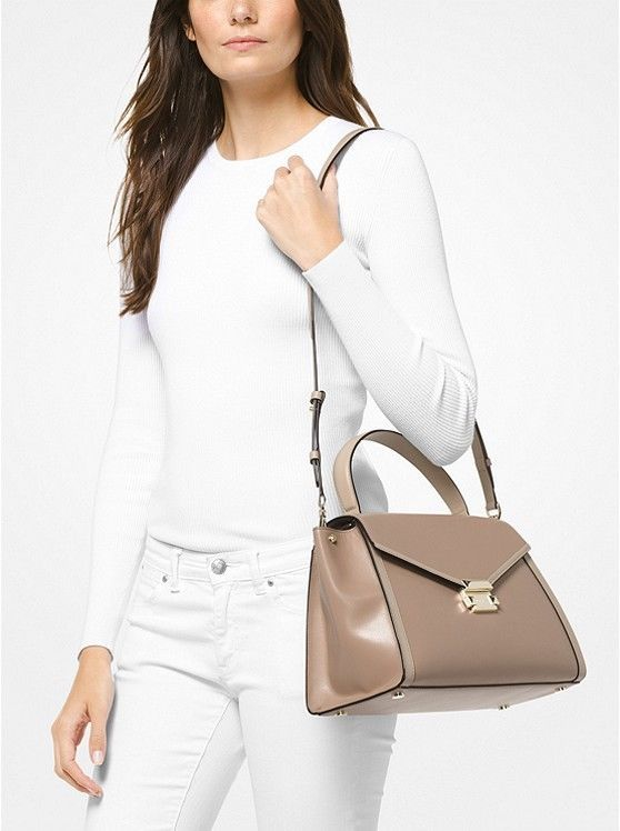 19de683ff720 Michael Kors Whitney Large Leather and 50 similar items. 57