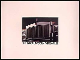 1980 Lincoln Versailles Prestige Brochure Original MINT 80 - $7.12