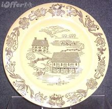 MID CENTURY MODERN-- ROYAL CHINA BUCKS COUNTY DINNER PLATE - $12.45