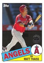 2020 Topps 1985 #85-4 Matt Thaiss RC Rookie Card > Angels ⚾ - $0.99
