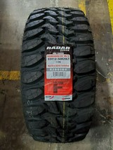 33X12.50R20LT Radar RENEGADE R7 M/T OWL 12PLY 119Q LOAD F 80PSI (SET OF 4) - $899.99