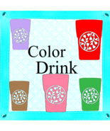 Color Drinks 5-Digital ClipArt-Art Clip-Gift Tag-Scrapbook-Background-Gi... - $3.99