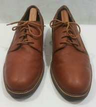 Timberland Waterproof Lace Up Brown Leather Casual Oxfords Mens Size 12 ... - $28.03