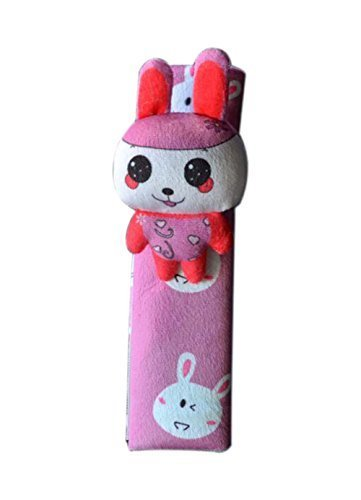 PANDA SUPERSTORE 1 Pairs of Chinese Zodiac Rabbit Automotive Interior Seat Belt