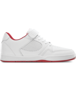 Mens es Accel Slim Plus Skateboarding Shoes NIB White Red - $79.99