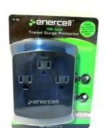 Enercell Three Plug Travel Surge Protector New! - $3.98