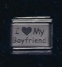 I Heart My Boyfriend Wholesale Italian Charm 9MM K3 - $8.95