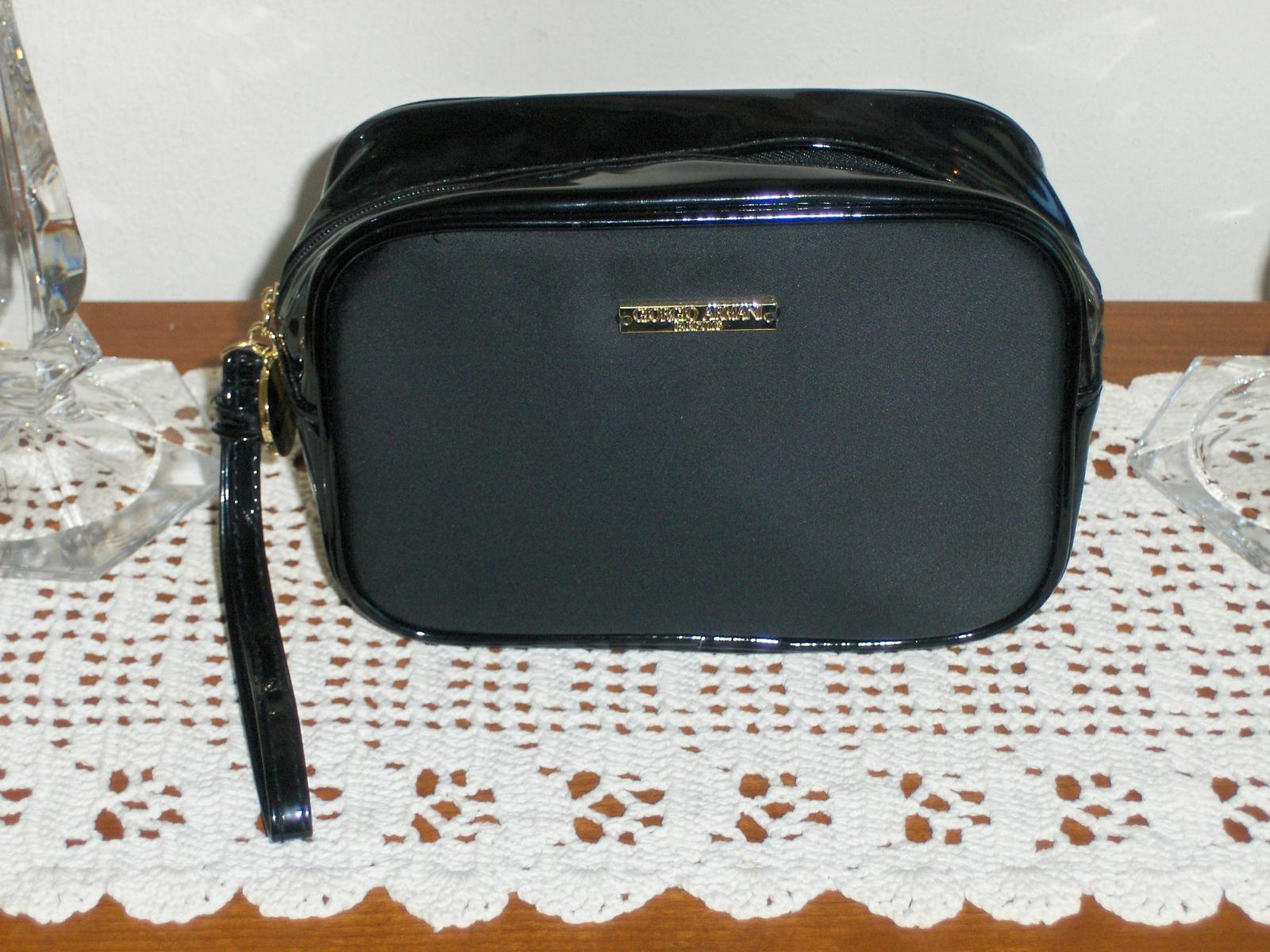 3e37e62bb174 Giorgio Armani Parfums Wristlet Black Purse and 50 similar items