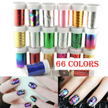 XICHEN®Starry 66 Colors Sky Stars Nail Art Stickers Tips Wraps Foil Tran... - $0.94+