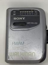 Sony FM/AM Walkman WM-FX141 **FOR PARTS OR REPAIR** - $19.79