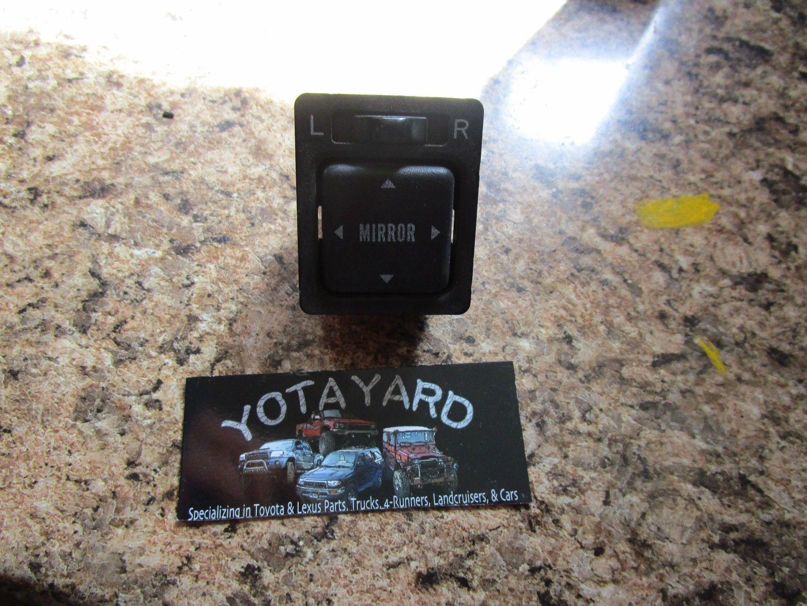1994 Toyota Land Cruiser Power Mirror Switch and 50 similar