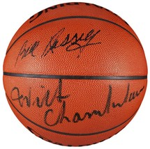Wilt Chamberlain Bill Russell Signed Spalding Basketball JSA Z50299 - $2,449.02