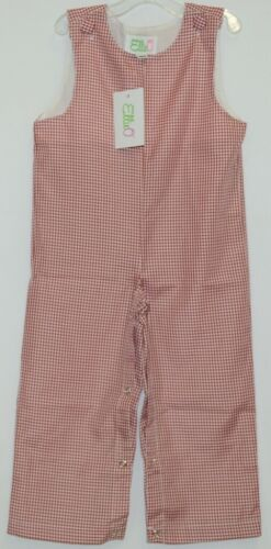 Ellie O Gingham Full Lined Longall Size 18 Months Color Red