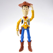 Takara Tomy Toy Story 4 Talking Friends Real Voices 22cm Woody Action Figure - $48.00