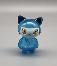 Max Toy Blue Clear Mini Cat Girl - Mint in Bag image 2