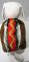 Pet Hot Dog W/Sequins Mustard Costume Sz XS, S NEW - $10.49