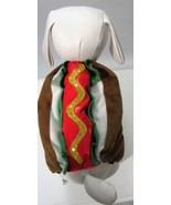 Pet Hot Dog W/Sequins Mustard Costume Sz XS, S NEW - $9.79