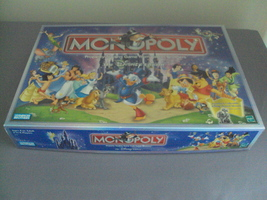 2001 Parker Bros Monopoly Disney Edition Board Game 8 Pewter Movers Comp... - $24.99