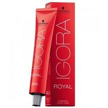 Schwarzkopf Igora Royal Permanent Creme Hair Color 2oz/60ml (1-0) - $10.48