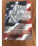"""Priez pour Notre Nation Livre """" Scriptural Prières Revive Pays Pb Ships ... - $23.49"""