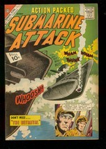 Submarine Attack #30 1961-CHARLTON War COMICS-GLANZMAN Vg - $31.53