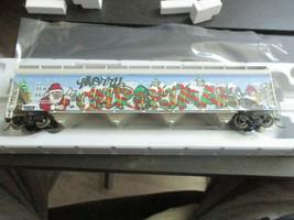Atlas # 20006330 (Christmas Graffiti) 5800 Plastics Hopper DOWX 66122 HO-Scale image 1