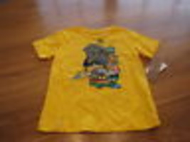 youth Boys 6 LRG roots equipment yellow t shirt NEW - $13.42