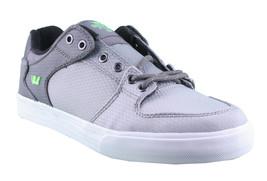 Supra Homme Vaider Bas Décoloré Gris/Blanc Nylon Skateboard Shoes Basket S36042 image 1