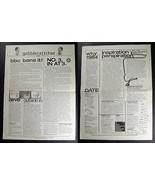 PETER GABRIEL Gabblerattchet 1980 Newsheet #1 Genesis - $74.99